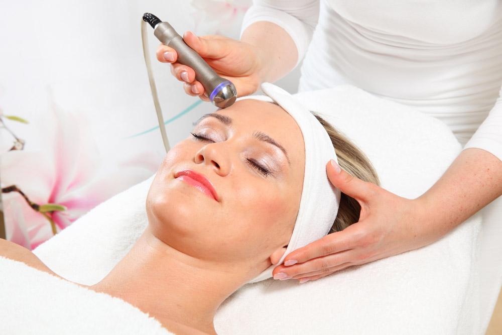Radiofrecuencia facial - tratamientos de belleza