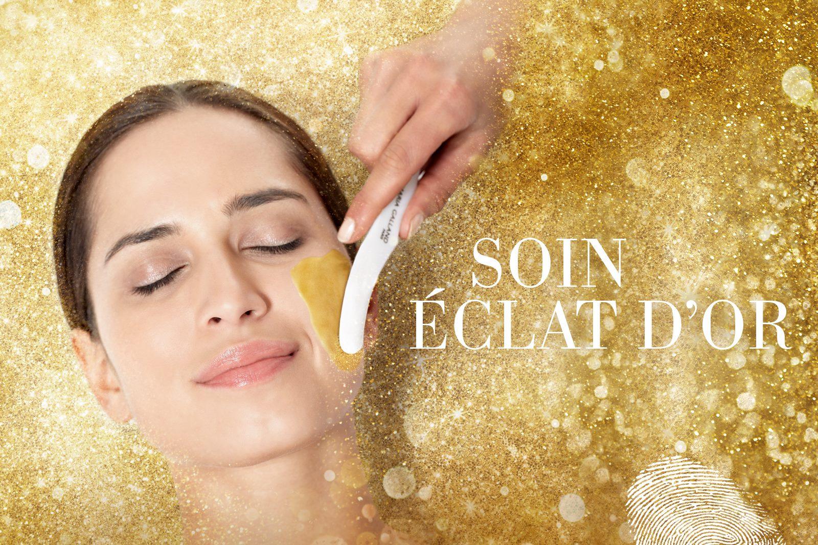 Soin Éclat D'or María Galland - Tratamiento facial con oro