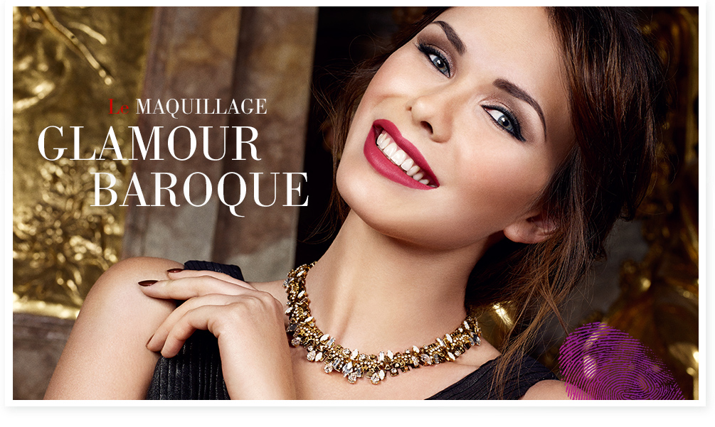 Le Maquillage Glamour Baroque María Galland
